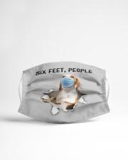 Beagle Six Feet People FM Cloth face mask aos-face-mask-lifestyle-22
