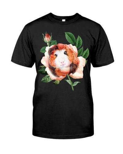 Guinea Pig-Rose-Leaf