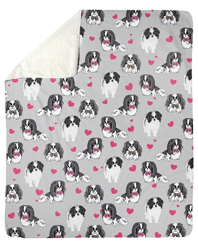 Japanese Chin-Heart-Blk
