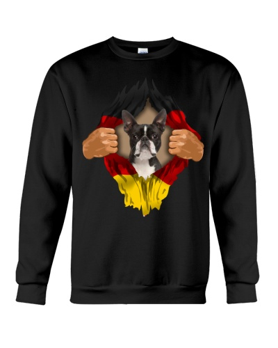 Boston Terrier-Flagge Deutschlands