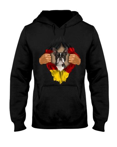 Boston Terrier-Flagge Deutschlands