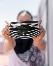 Black Toy Poodle Stripes FM Cloth face mask aos-face-mask-lifestyle-07