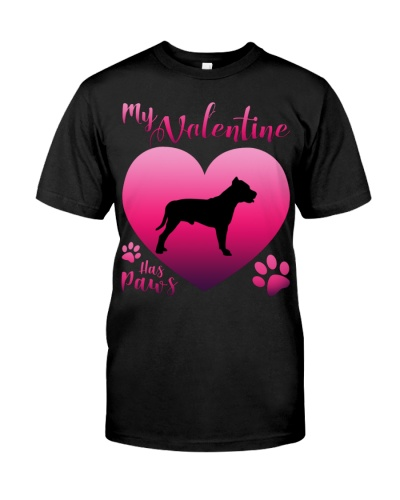 American Pit Bull Terrier-My Valentine Has Paws