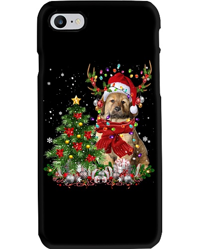 Tibetan Mastiff-Reindeer-Christmas