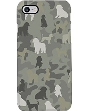 phantom poodle-camouflage Phone Case thumbnail