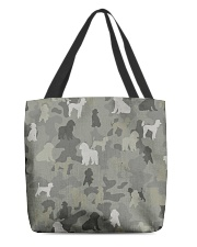 phantom poodle-camouflage All-over Tote thumbnail
