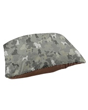 phantom poodle-camouflage Pet Bed - Small thumbnail