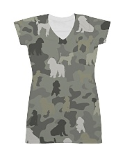 phantom poodle-camouflage All-over Dress thumbnail