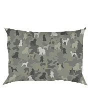 phantom poodle-camouflage Rectangular Pillowcase thumbnail