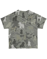 phantom poodle-camouflage All-over T-Shirt back
