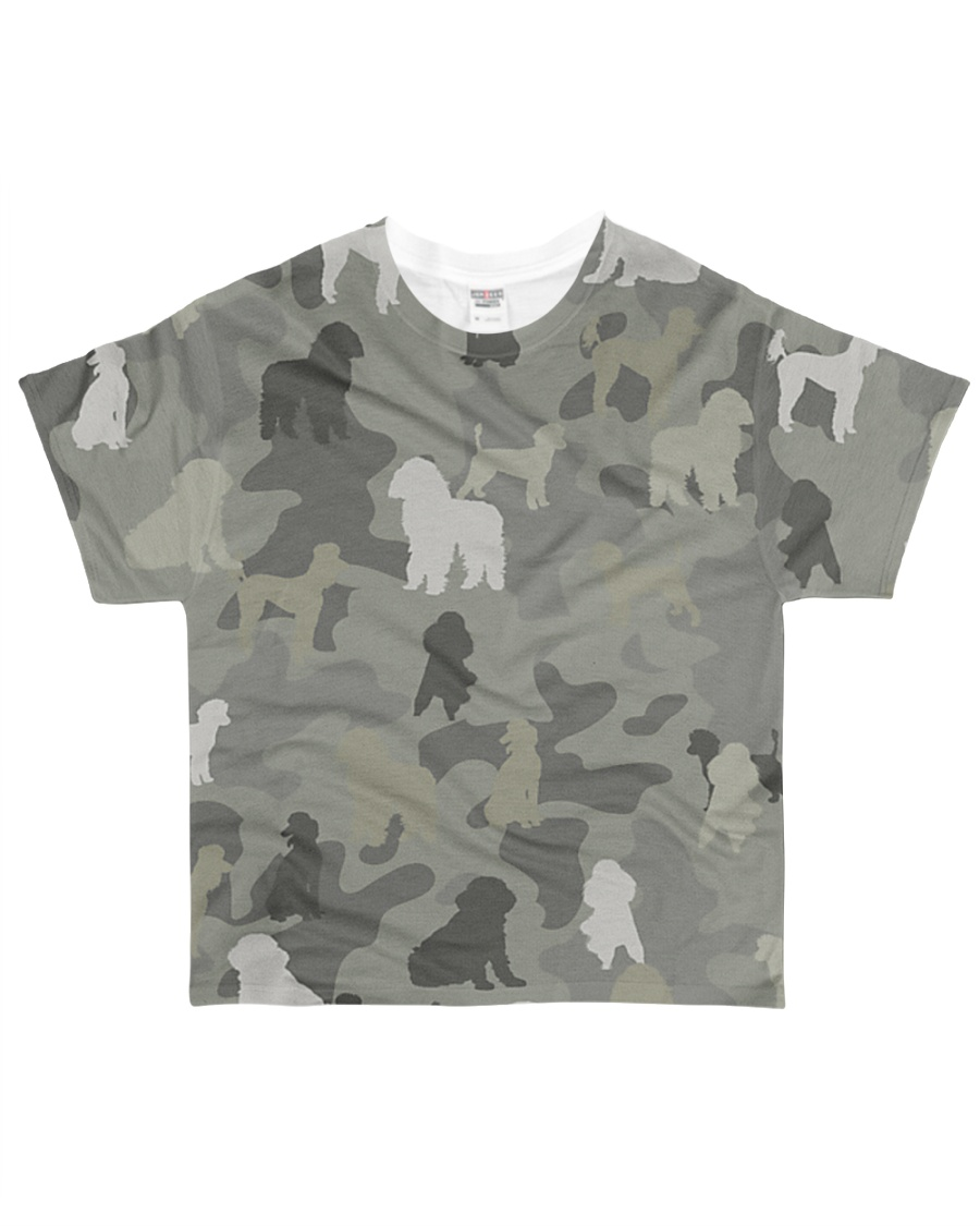 phantom poodle-camouflage All-over T-Shirt