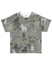 phantom poodle-camouflage All-over T-Shirt front