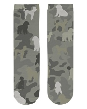 phantom poodle-camouflage Crew Length Socks thumbnail
