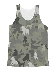 phantom poodle-camouflage All-over Unisex Tank thumbnail