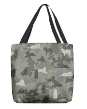 Great Pyrenees-camouflage All-over Tote thumbnail