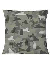 Great Pyrenees-camouflage Square Pillowcase thumbnail