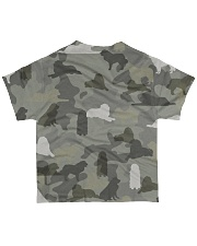 Great Pyrenees-camouflage All-over T-Shirt back