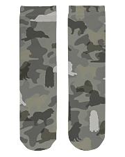 Great Pyrenees-camouflage Crew Length Socks thumbnail