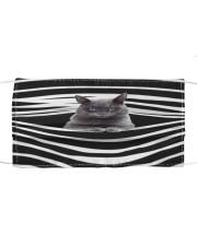 Korat Cat Stripes FM Cloth face mask front