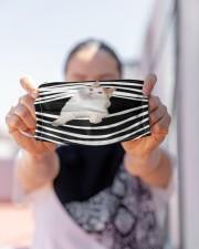 Turkish Van Cat Stripes FM Cloth face mask aos-face-mask-lifestyle-07