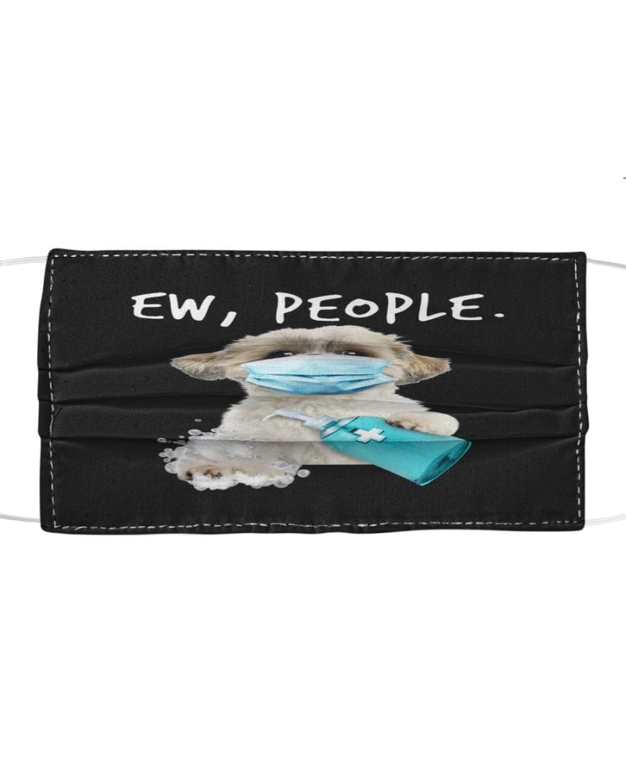 Shih Tzu Handwashing Ew People Cloth face mask