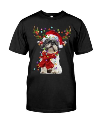 Shih Tzu-Reindeer