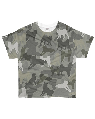 Akita-camouflage