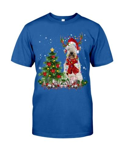 Soft-coated Wheaten Terrier-Reindeer-Christmas