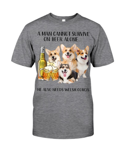 He Also Needs Welsh Corgi And Beer