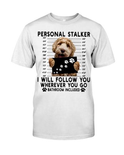 Labradoodle Funny Personal Stalker