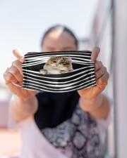 American Curl Cat Stripes FM Cloth face mask aos-face-mask-lifestyle-07