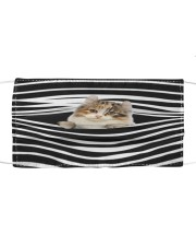 American Curl Cat Stripes FM Cloth face mask front