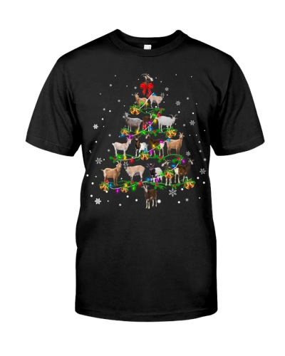 Goat-Christmas Tree