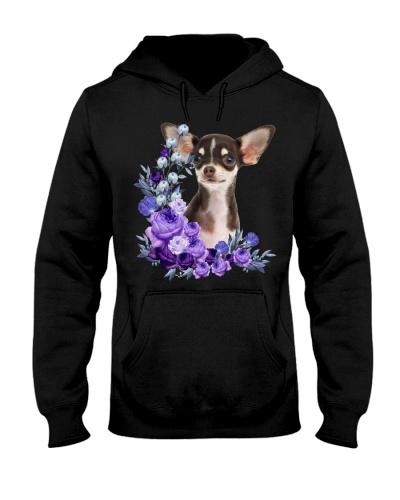 Chihuahua-Purple Flower Stems