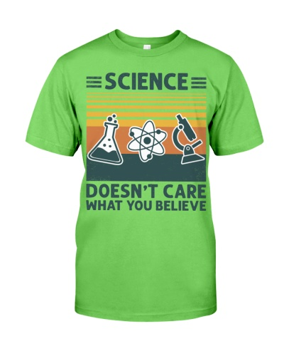 Science Doesn't Care What You Believe