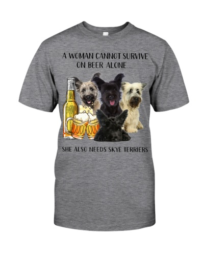She Also Needs Skye Terrier And Beer