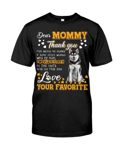 Dear Mommy-Husky