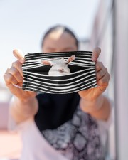 Goat Stripes FM Cloth face mask aos-face-mask-lifestyle-07