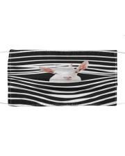 Goat Stripes FM Cloth face mask front