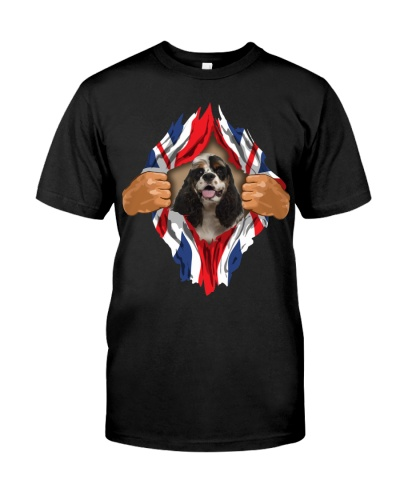 American Cocker Spaniel-Torn-Union Jack