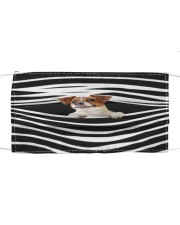 Jack Russell Terrier Stripes FM Cloth face mask front