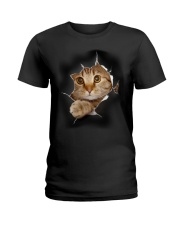 CAT - 3D Ladies T-Shirt thumbnail