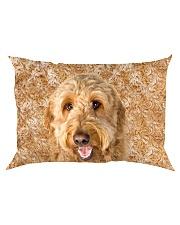 Goldendoodle-Face and Hair Rectangular Pillowcase thumbnail