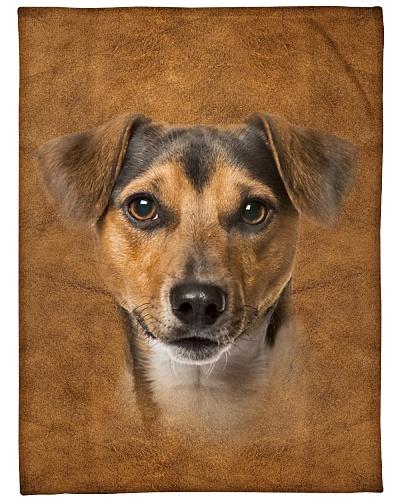 Jack Russell Terrier Face 3D