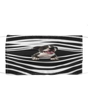Staffordshire Bull Terrier Stripes FM Cloth face mask front