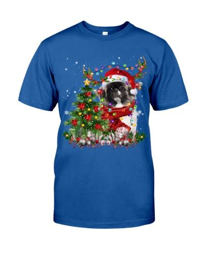 Pekingese-Reindeer-Christmas