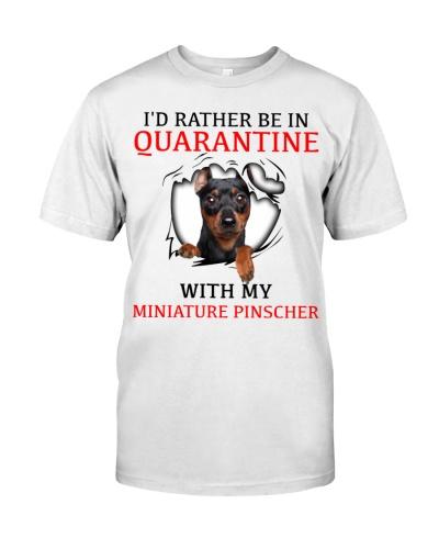 Quarantine With My Miniature Pinscher
