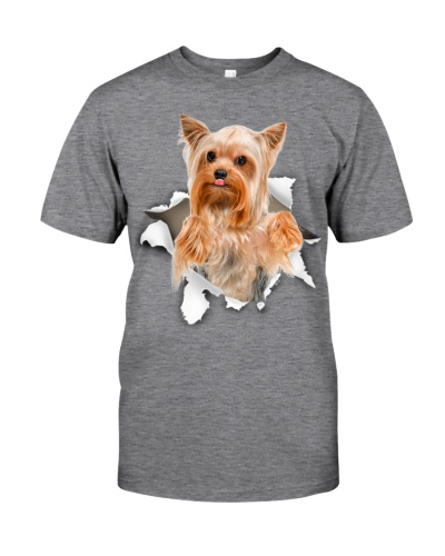 Yorkshire Terrier - Torn Paper