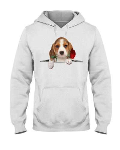 Beagle Rose Face