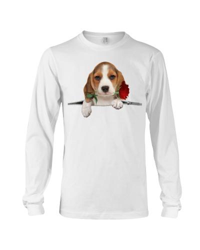 Beagle Rose Face